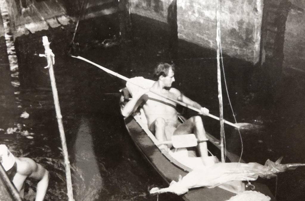 Faltboot Ingo im NDR